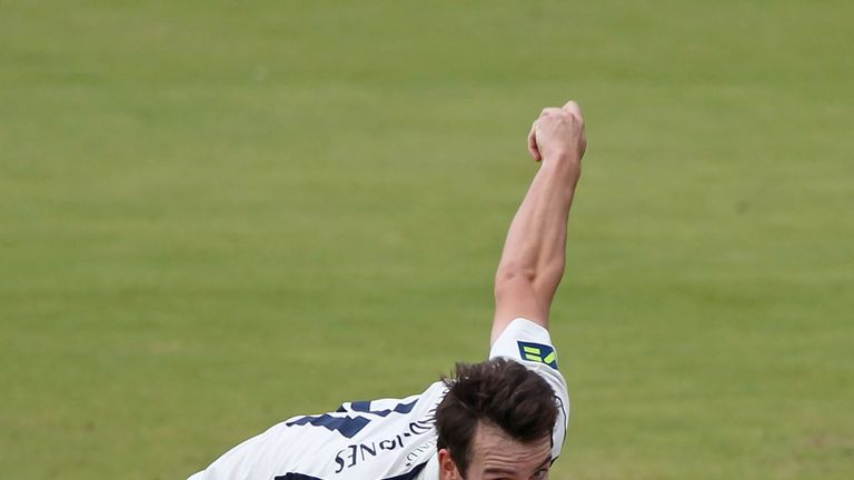 Toby Roland-Jones impressed Bumble at Lord's