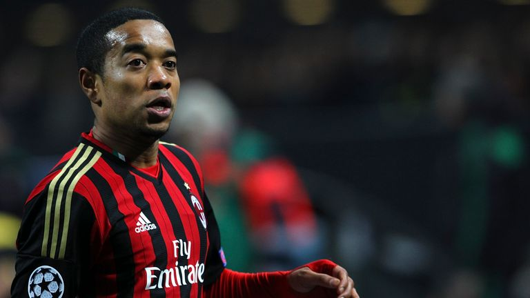 Urby Emanuelson, pictured during his time at AC Milan, has joined Hellas Verona