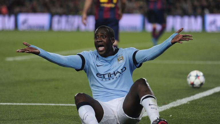 Toure has been criticised heavily for not showing enough energy