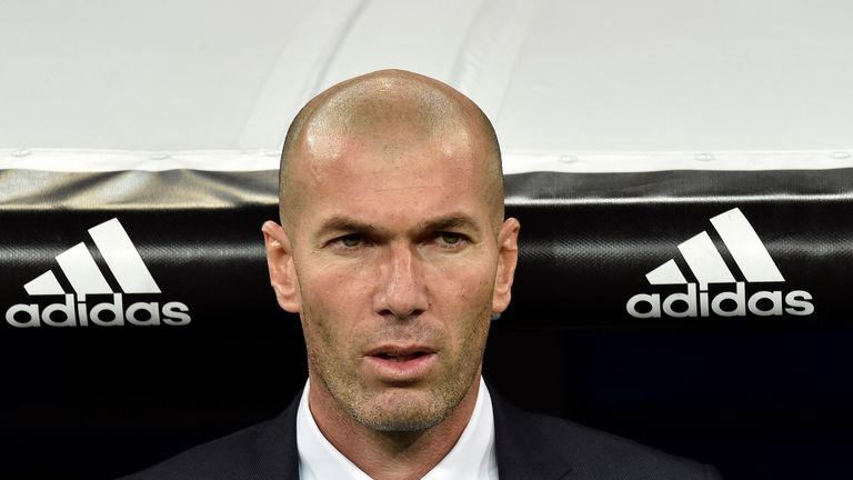 Zidane made the perfect start in charge of Real with a 5-0 win