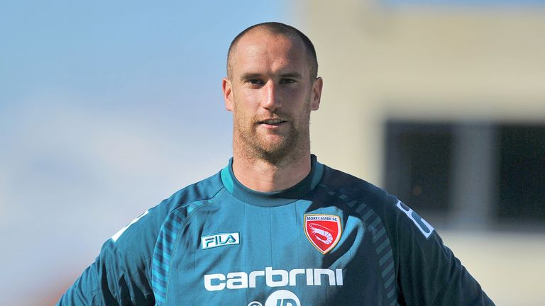 Barry Roche is out of the Morecambe side