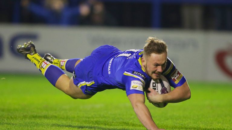 Ben Currie has quickly put his Challenge Cup final disappointment behind him