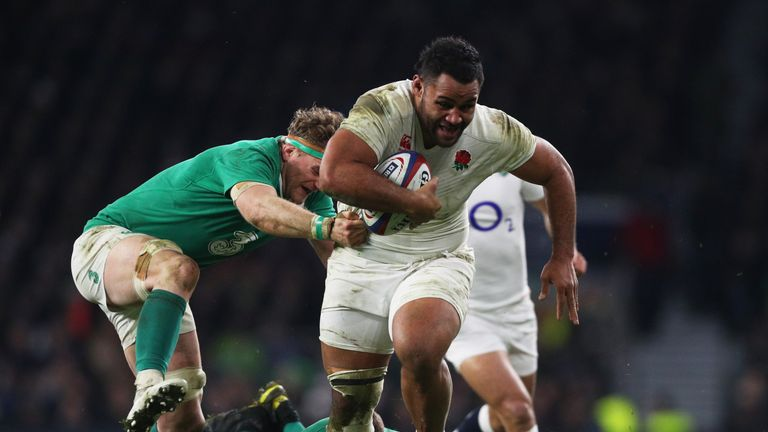 Billy Vunipola has been the standout performer in this year's Six Nations