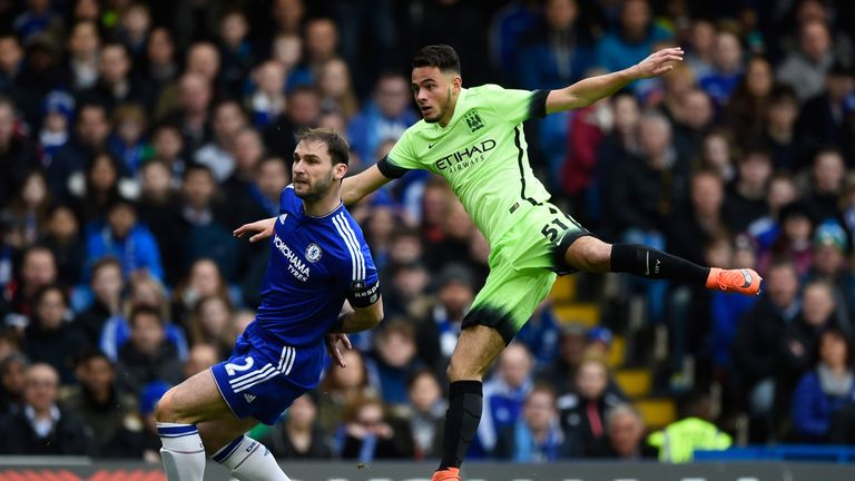Faupala showed flashes of quality during City's 5-1 defeat to Chelsea
