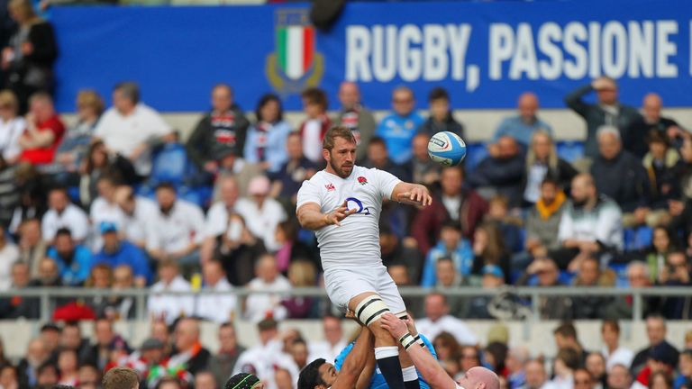 Chris Robshaw's performances have improved since losing the England captaincy