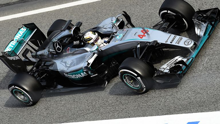 Mercedes ran a new-look nose on the final day of the first test