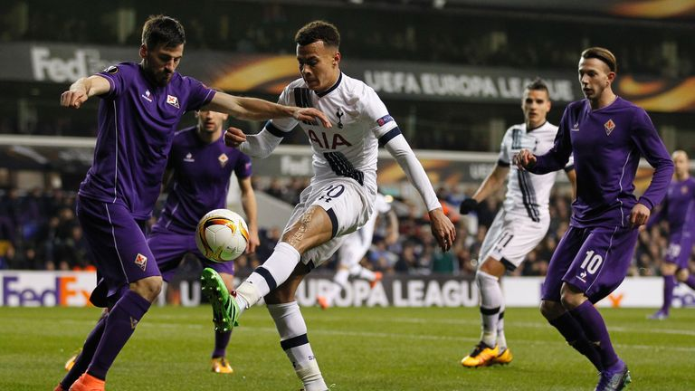 Dele Alli will be suspended for the first leg of the next round