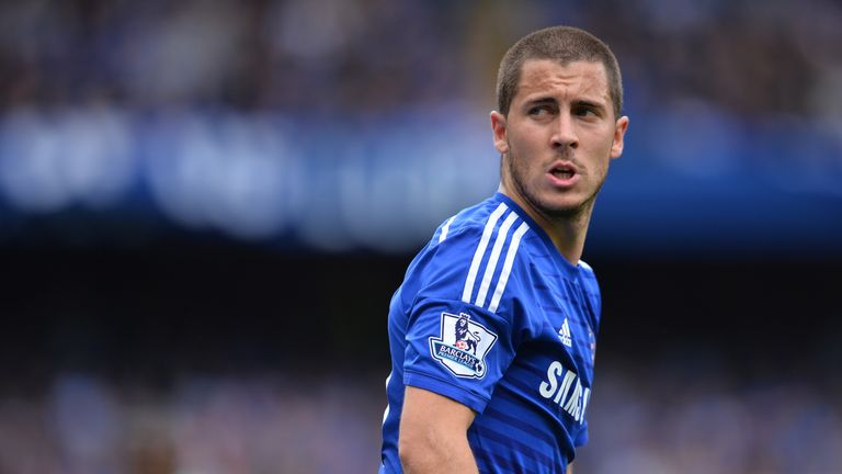 Eden Hazard should aim to be bracketed with the world's best players, according to Antonio Conte