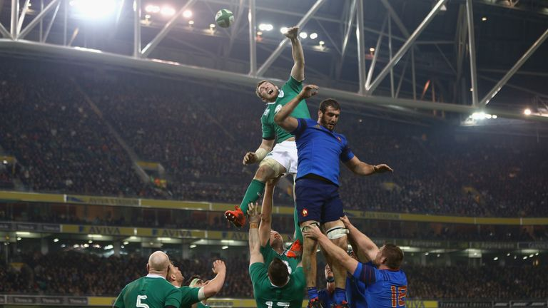 Ireland won 18-11 when they played France in last year's Six Nations
