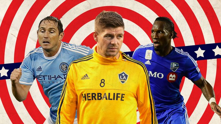 Frank Lampard, Steven Gerrard and Didier Drogba have played in the MLS