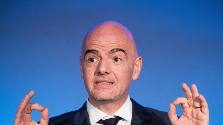 Infantino says he understands that reform is needed at FIFA