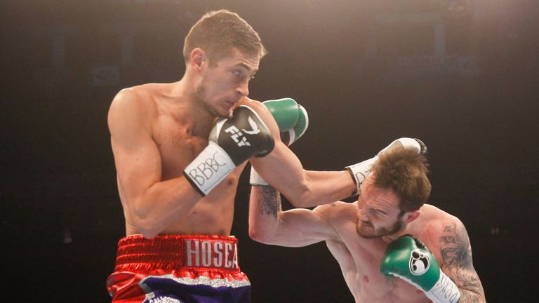 Burton had to endure a few uncomfortable rounds against Miles Shinkwin