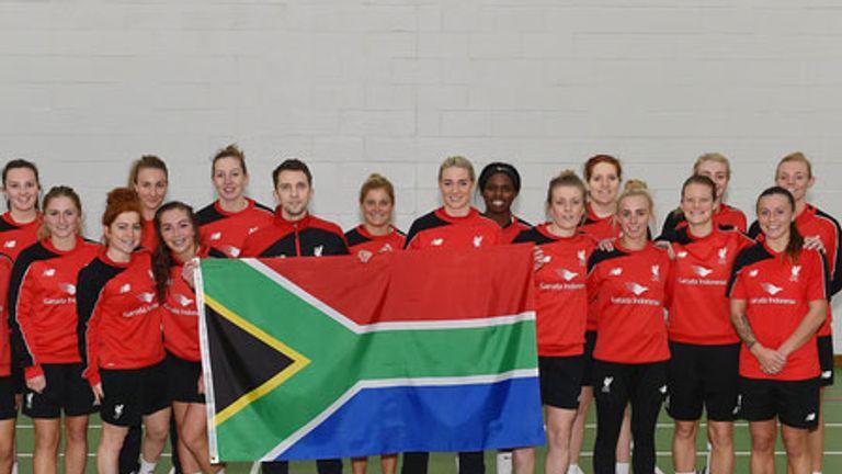 Liverpool Ladies travel to Johannesburg next month