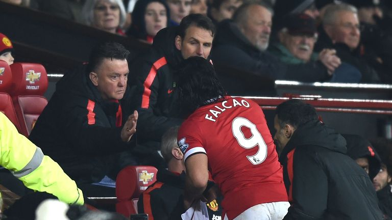 Louis van Gaal's signing of Falcao on loan wasn't successful for Manchester United