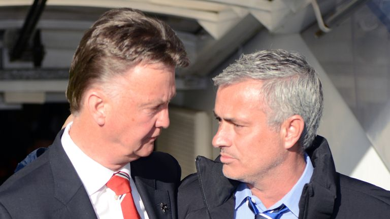Jose Mourinho has been touted as a potential successor to Louis van Gaal