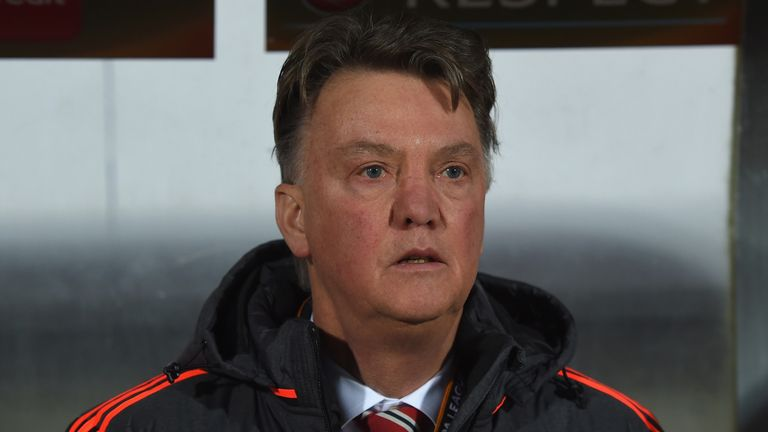 Van Gaal has been forced to fend off questions about his future