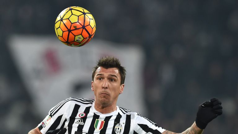 Mario Mandzukic could come up against his former club if fully fit