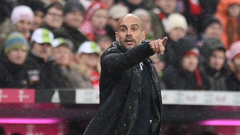 Pep Guardiola will replace Manuel Pellegrini at Manchester City in the summer