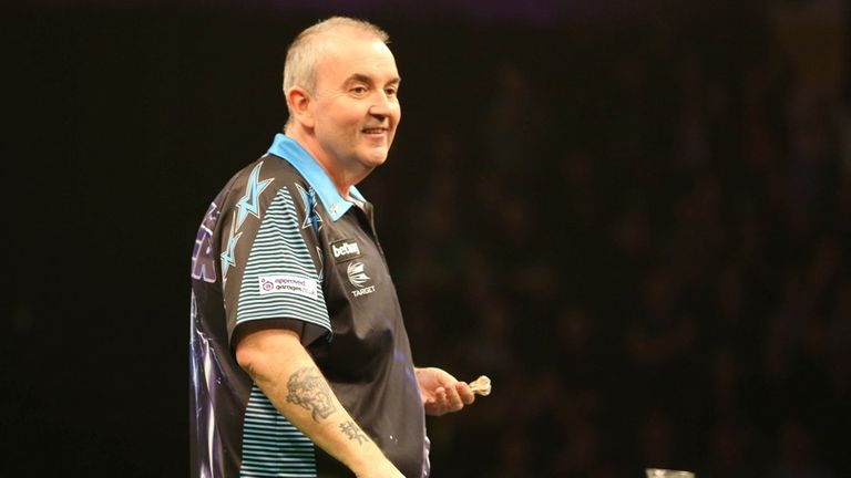 Phil Taylor impressed after losing his long-standing record
