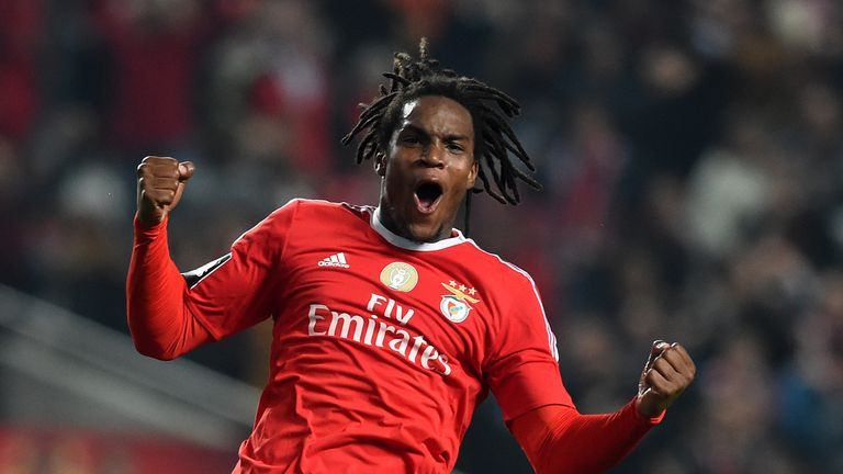 Benfica's highly-rated midfielder Renato Sanches