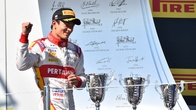 Haryanto drove for Campos Racing in GP2 last year