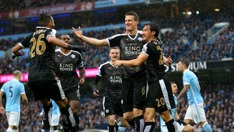 Saturday's win at Manchester City put Leicester five points clear at the top of the Premier League