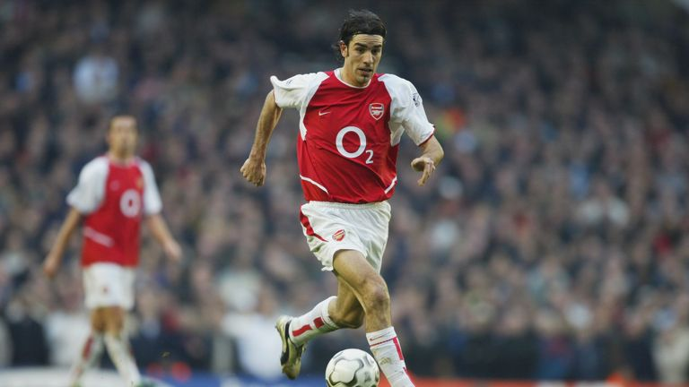Robert Pires spent six seasons at Arsenal
