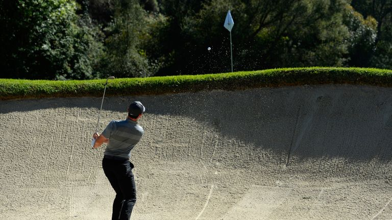 McIlroy couldn't follow on from an opening-hole eagle