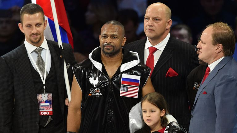 Roy Jones Jr became a Russian citizen in late 2015