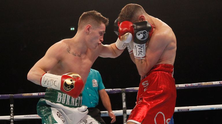 Ryan Burnett completed a dominant points victory
