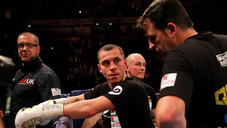 Scott Quigg accepted the decision but felt he was competitive in the fight