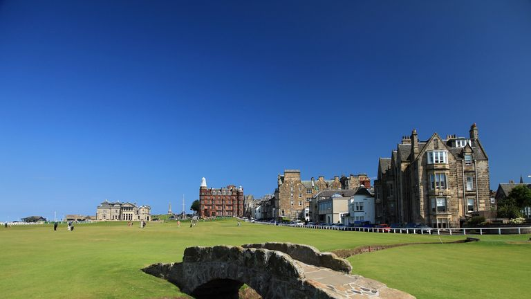St Andrews will host the Senior Open for the first time in 2018