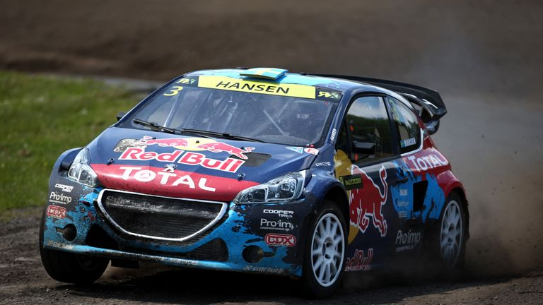 Lobe will drive alongside Swede Timmy Hansen at the works team
