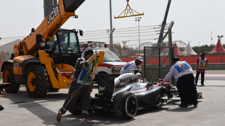 Honda suffered repeated technical failures in their first season back in F1