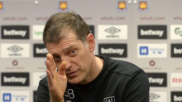 Slaven Bilic: Calleri is a top striker