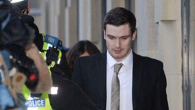 Adam Johnson released from prison