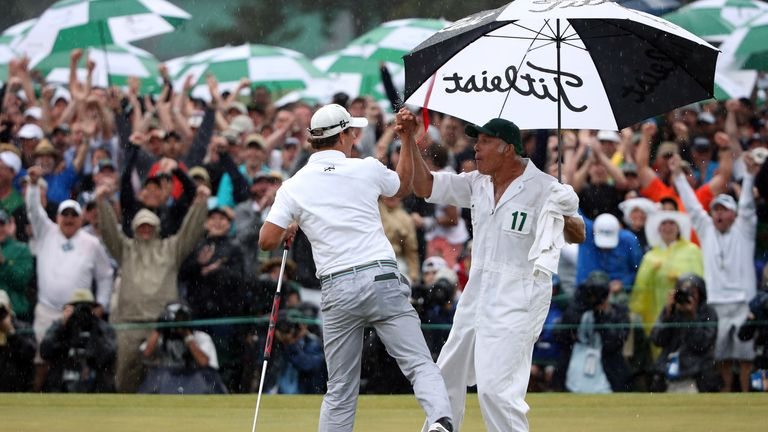 Could we see Adam Scott win a second Masters title next month?