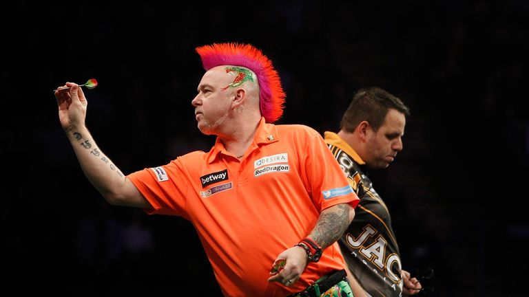 Peter Wright overcame world number three Adrian Lewis to claim his first title of 2016
