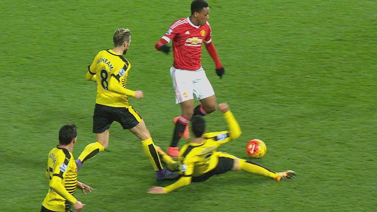 Dermot Gallagher feels Anthony Martial deceived the referee