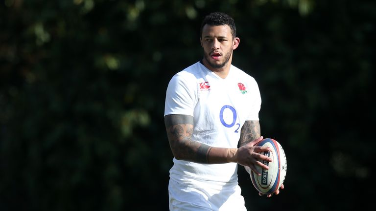 Courtney Lawes will miss England's match against Wales