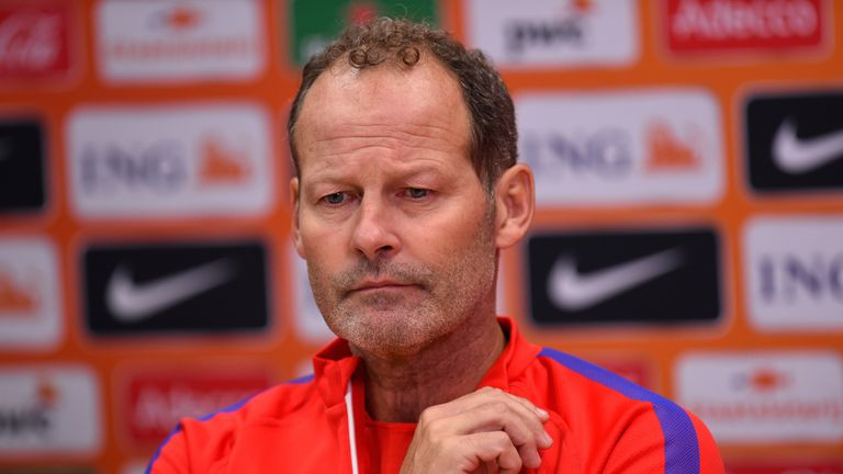 Netherlands head coach Danny Blind will work with Advocaat