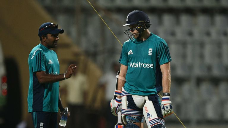 Jayawardene worked with England in the UAE and at the World T20