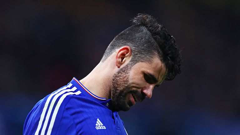 Diego Costa has not hit the same heights this season as he did in his debut season