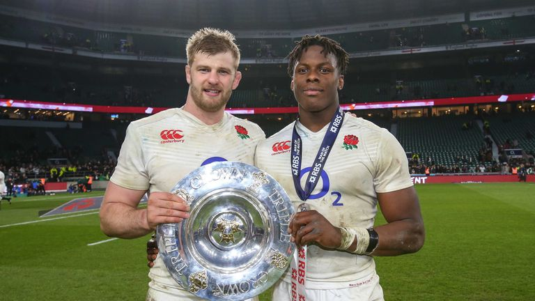 Itoje and George Kruis impressed for England during their Six Nations Grand Slam campaign