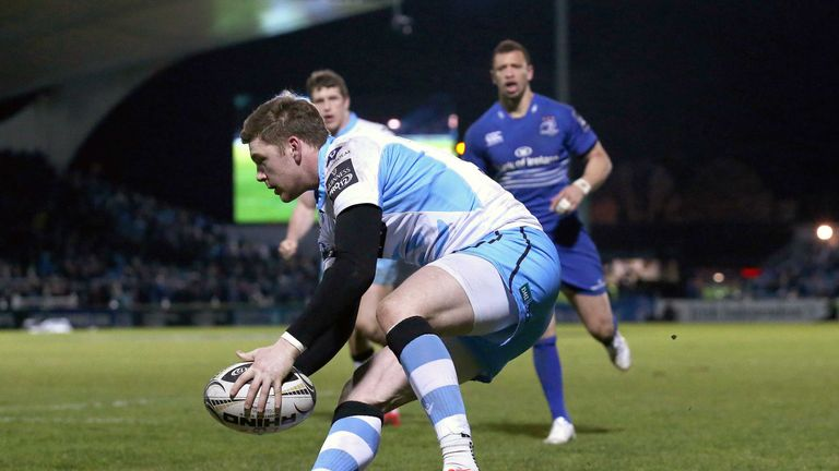 Glenn Bryce is leaving Glasgow at the end of the season