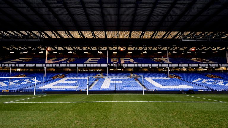Bellew will perform in front of Everton's famous Gwladys Street