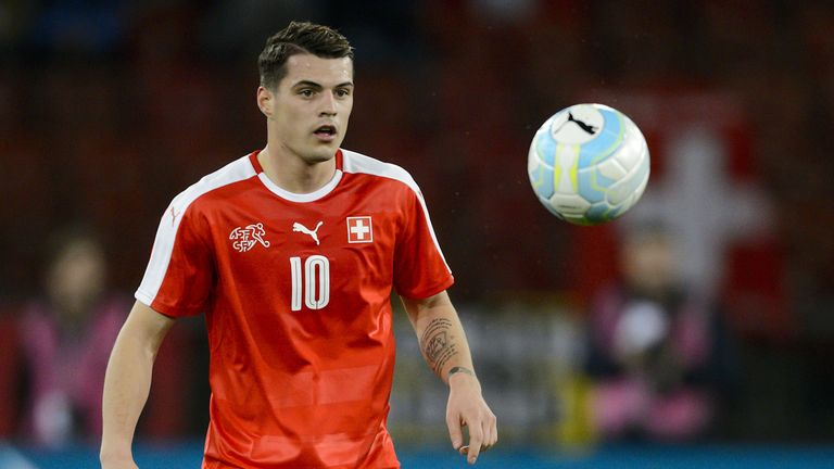Granit Xhaka has made over 40 appearances for Switzerland, while brother Taulant has made six for Albania