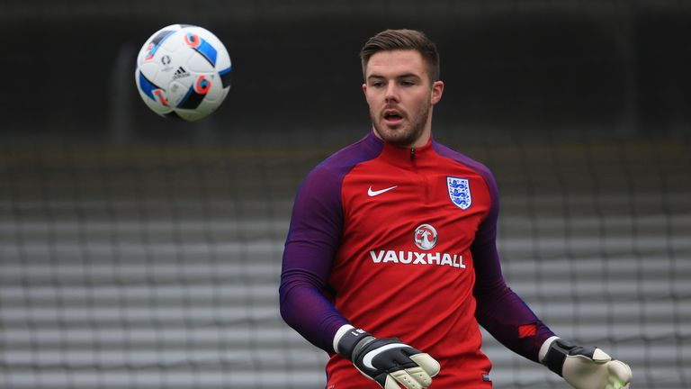 Jack Butland has been voted Stoke's Player of the Year