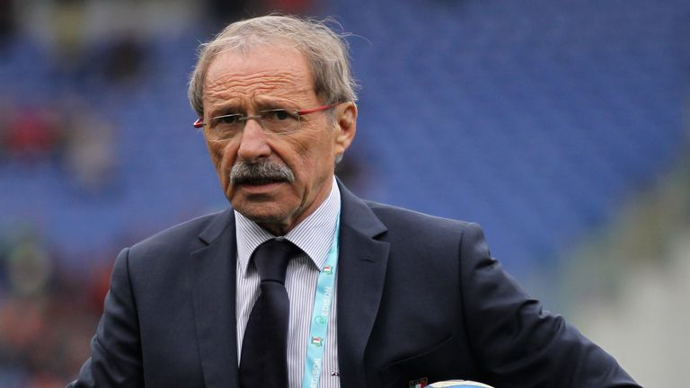 Jacques Brunel's last game as Italy coach will be against Wales on Saturday