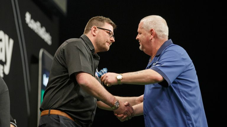 James Wade and Robert Thornton's showdown at the 2014 World Grand Prix will forever be etched in darting history